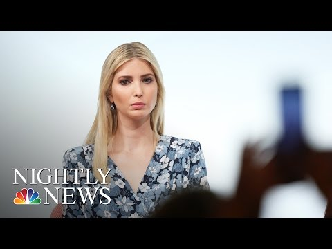 Ivanka Trump Defends Her Father At Women's Summit In Berlin | NBC Nightly News