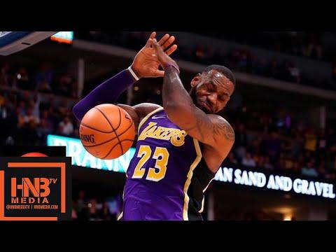 Los Angeles Lakers vs Denver Nuggets Full Game Highlights | 11.27.2018, NBA Season