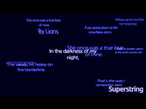 Lions - Girl from the North Country (Lyric video)