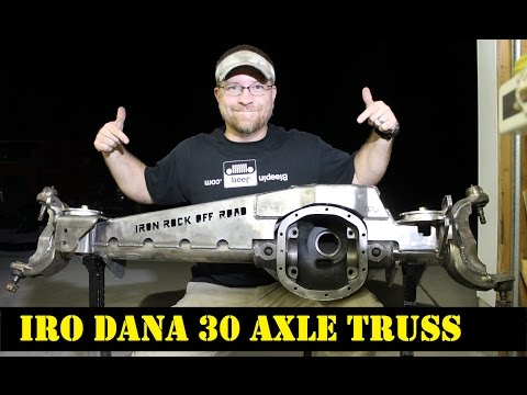 Project Tetanus Front Axle Swap Part 2 (IRO Dana 30 Axle Truss Install)