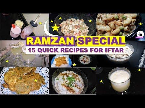 15 Quick Iftar Recipes    Ramzan Recipes 🌙  Pakistani Mom in Dubai
