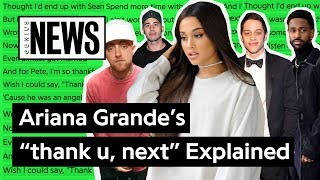 Ariana Grandes thank u, next Explained Song Stories