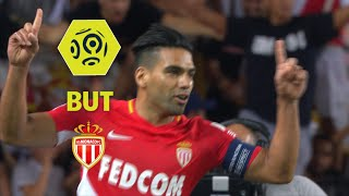 But radamel falcao (20' pen) / as monaco - olympique de marseille (6-1)  / 2017-18