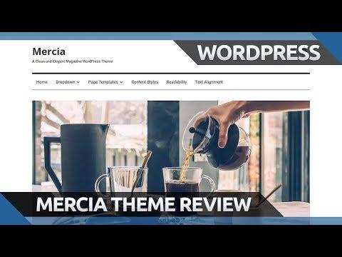 Mercia - Free WordPress Magazine Theme - Review