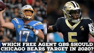 Which QBs Should The Chicago Bears Target In 2020 NFL Free Agency
