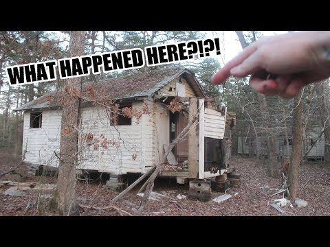 ABANDONED RITUAL VILLAGE! HELLHOUND ON INDIAN CABIN ROAD!?!?!