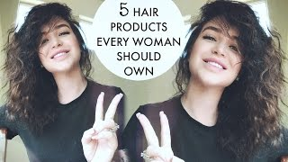 HAIR PRODUCTS THAT SAVED MY HAIR ✖