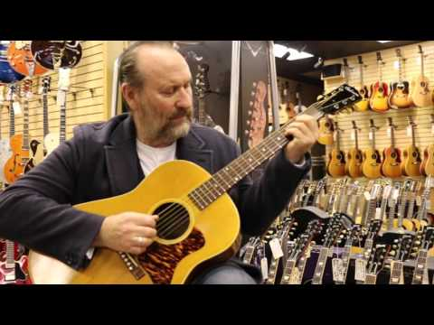 Colin Hay playing a 1939 Gibson J-35 here at Norman's Rare Guitars