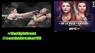 Montana De La Rosa vs. Nadia Kaseem post final thoughts - #thefightfront