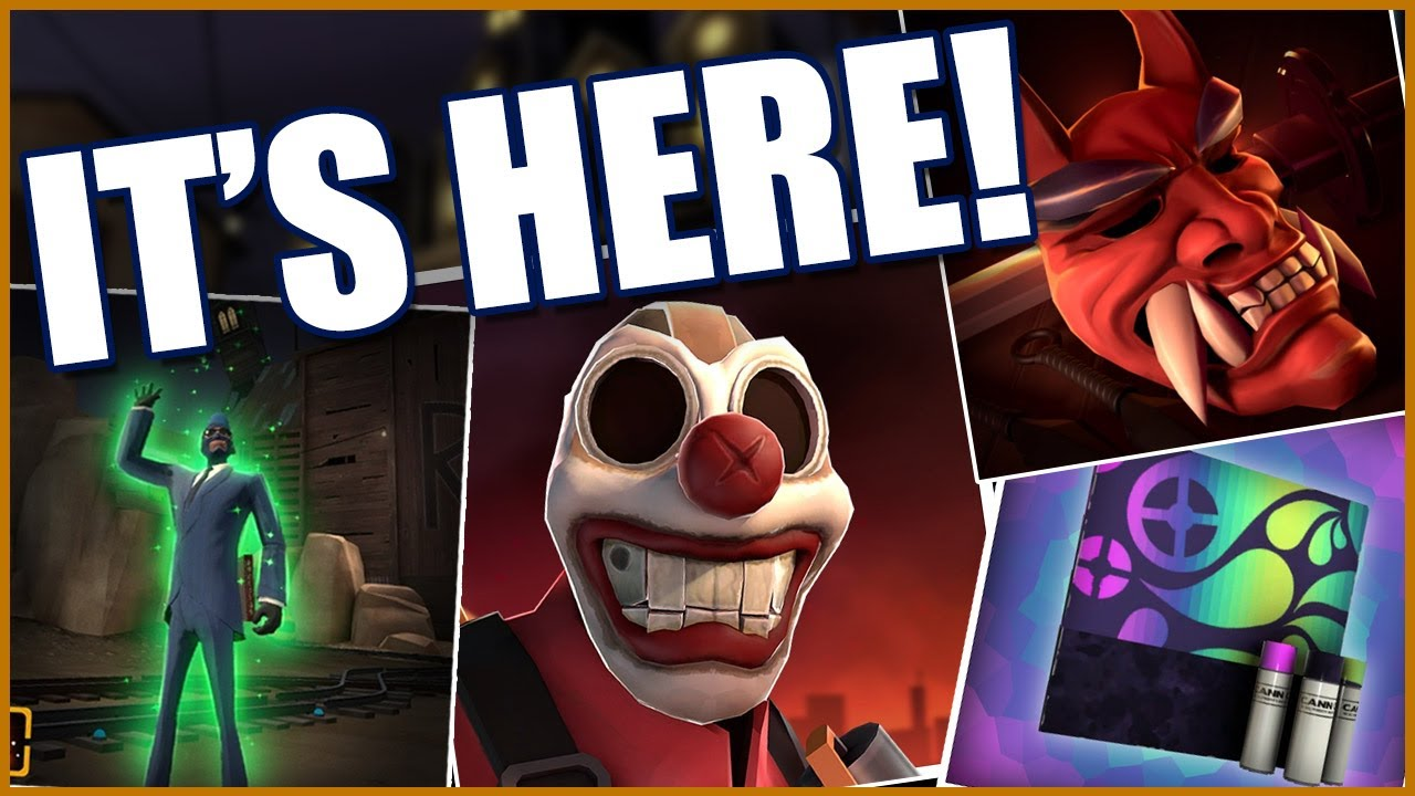 Tf2 Halloween 2020 Unusuals TF2] NEW Scream Fortress 2020 Update is HERE!   YouTube