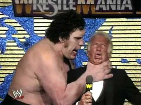 andre the giant tribute youtube