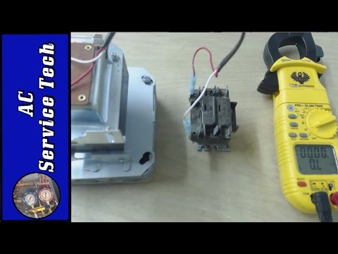 testing a bad honeywell general purpose relay and taking apart to see the  burn marks! - youtube