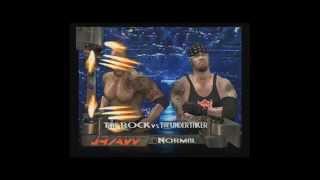 WWE RAW 2 The Undertaker VS The Rock