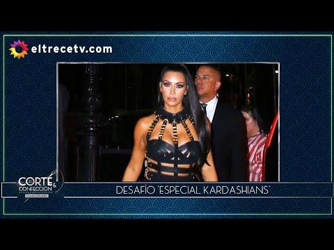 """Corte y confección - Programa 16/07/19 - Desafío """"Especial Kardashians"""""""