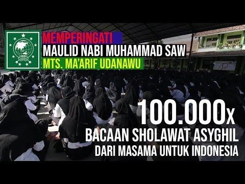 MAULID NABI & 100 000 SHOLAWAT ASYGHIL DARI MASAMA UNTUK INDONESIA