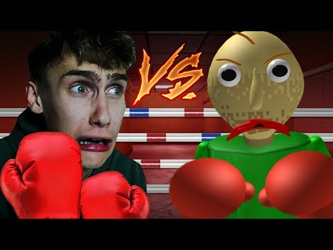 JOB VS BALDI IN ROBLOX! (Roblox)