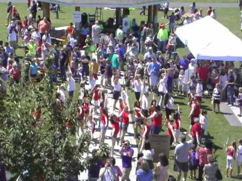 First ever flash mob in Arlington, WA, July 4th, 2011
