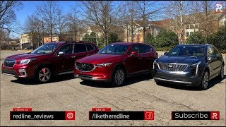 Cadillac XT4 / Mazda CX-5 / Subaru Forester – Blurring The Luxury Line?