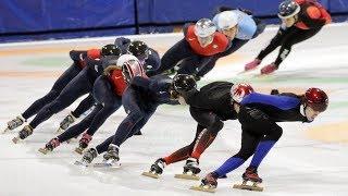 Olympic: Speed Skating - Men's Mass StartSemifinal 1 Live