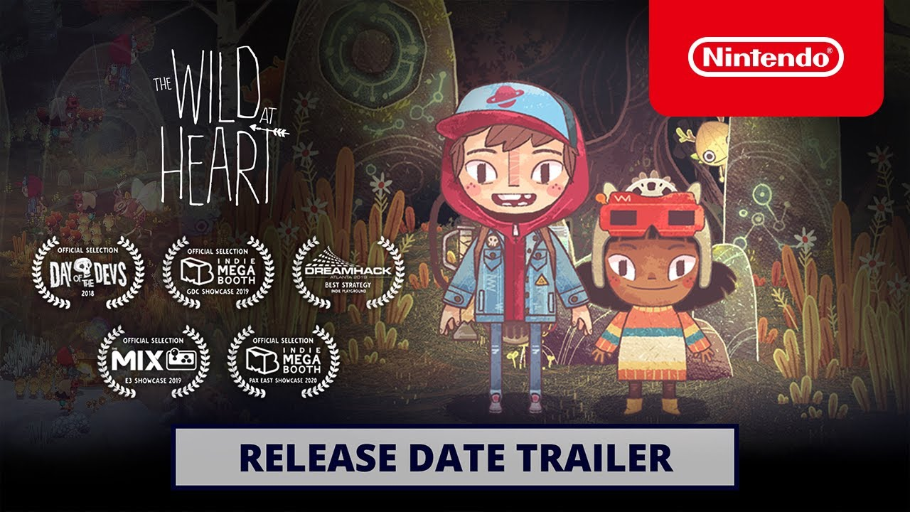 The Wild at Heart — Release Date Trailer — Nintendo Switch