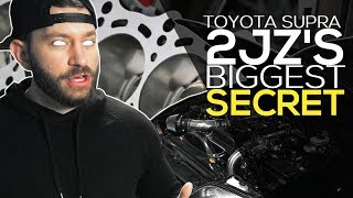 Here's why the TOYOTA SUPRA 2JZ engine so STRONG and legendary