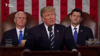 «Моя робота – представляти США, а не світ» – Трамп у Конгресі