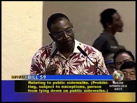 testimony against Bill 59 on September 11th 2013 at the Honolulu fakestatecitycouncil