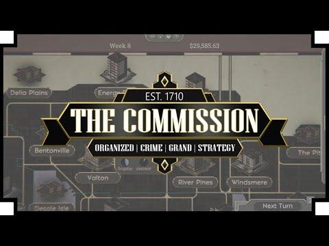 The Commission: Organized Crime Grand Strategy - (Mafia Family Strategy Game)