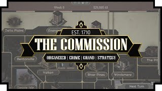 The Commission: Organized Crime Grand Strategy - (Mafia Family Strategy Game)