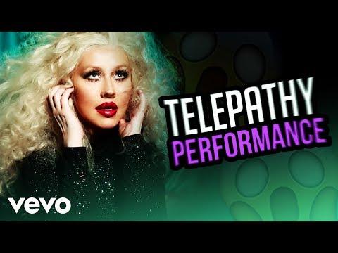 Christina Aguilera - Telepathy (Live Studio Version) [Fanmade]