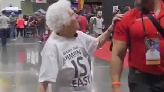 Funny Old Women Annoying People