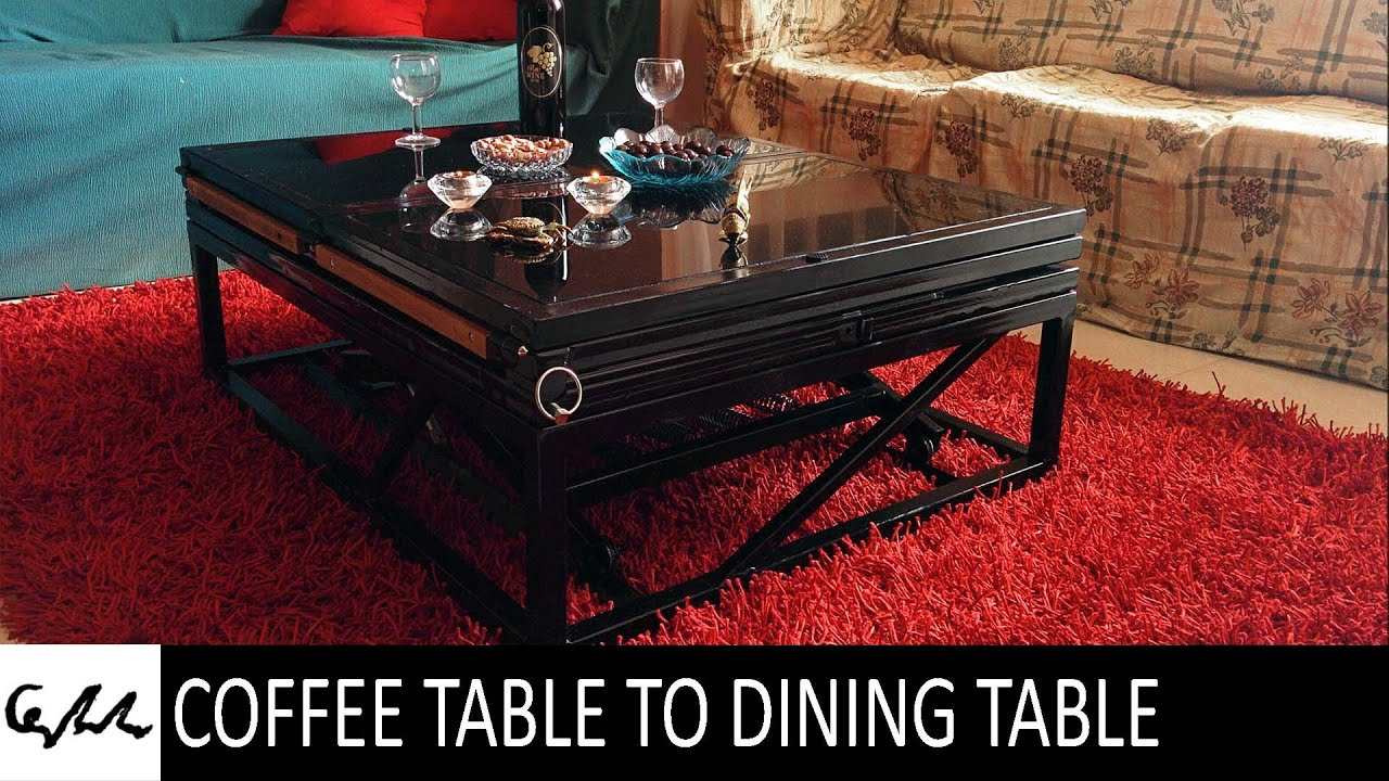 coffee table to dining table