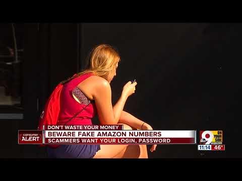 Beware fake Amazon phone numbers