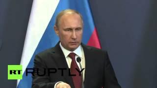 Putin: Schande für Kiew! Man verliert nicht gerne gegen Traktorfahrer und Bergarbeiter