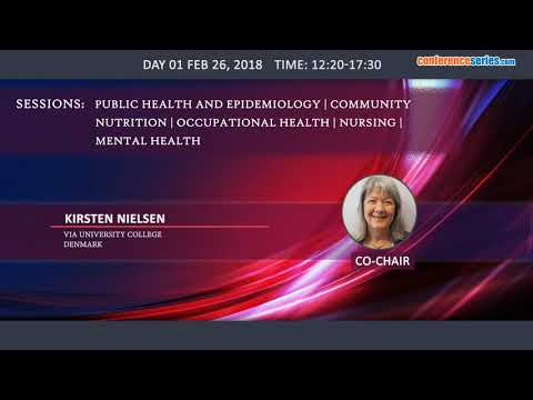 3 rd World Congress on Public Health and Nutrition