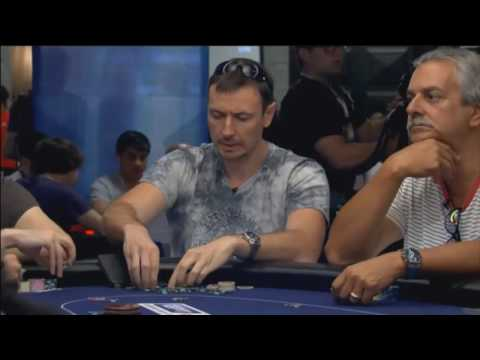 EPT 13 - Barcelona: Main Event, Day 2. HD video