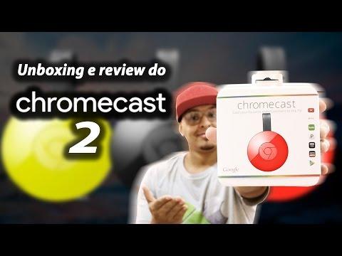 Unboxing e Review do Chromecast 2 / Como usar! / Vale a pena?