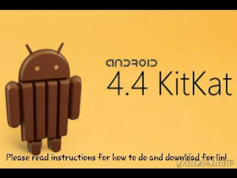 Upgrade Android To KitKat 4.4 Not Launcher REAL