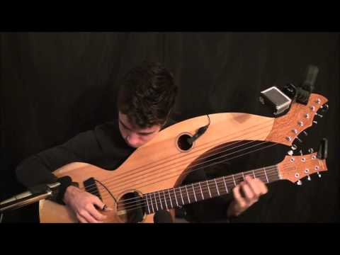 Unchained Melody - Harp Guitar Cover - Jamie Dupuis