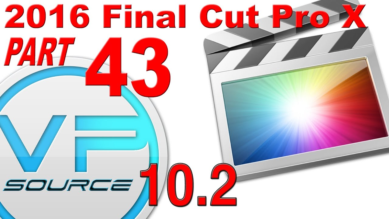 43. How to CHANGE FRAME RATE ( 24p vs 29.97p ) Final Cut Pro X 10.2 ...