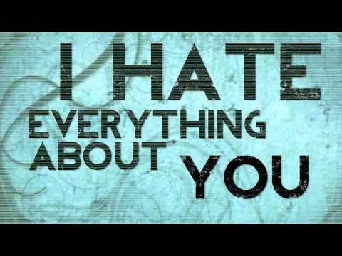 hate everything about you