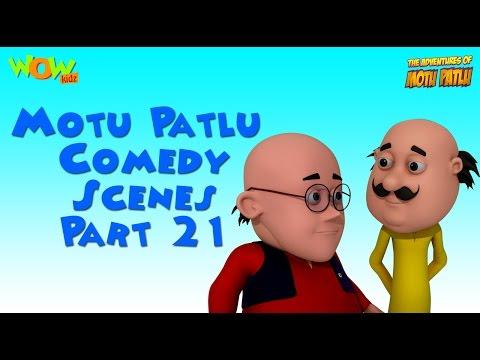 Motu Patlu comedy scenes Part 21 - Motu...