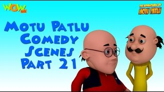 Motu Patlu comedy scenes Part 21 - Motu Patlu Compilation As seen on Nickelodeon