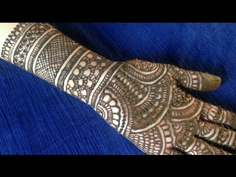 Latest Mehndi design | Full Hand Mehndi Design | Smriti Shrivastav | Divine Mehndi Arts