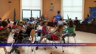 Yvelines | Les enfants fêtent leurs droits à l'hôtel de ville de Montigny-le-Bretonneux