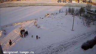 Новогодний флешмоб Беломорск(, 2016-01-10T17:31:04.000Z)