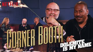 Eddie Murphy and Craig Brewer of Dolemite in the Corner Booth | Netflix
