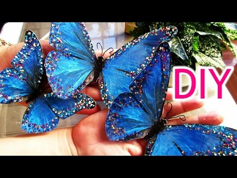 Diy mariposas decorativas para pared idea para decorar tu for Cosas decorativas para navidad