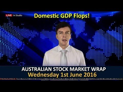 Australian Stock Market Report - 1st June 2016 Wednesday