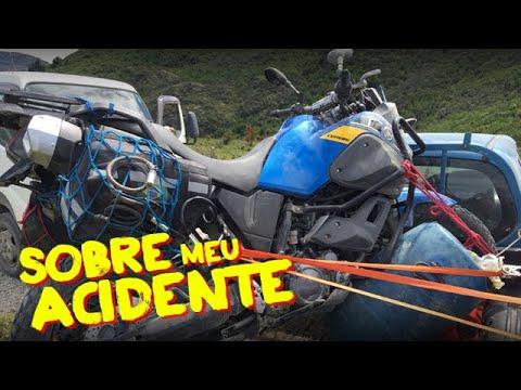 RE Himalayan - Sobre o acidente com a Ténéré 660 no Chile